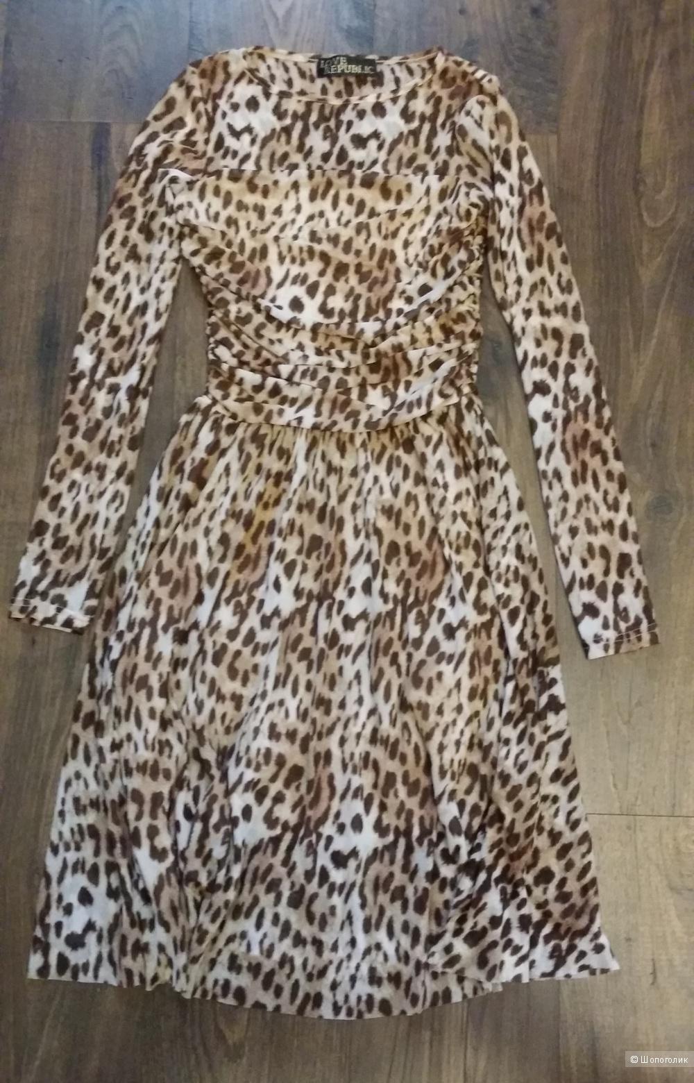 Великолепное, воздушное платье LOVE REPUBLIC, 42 размер