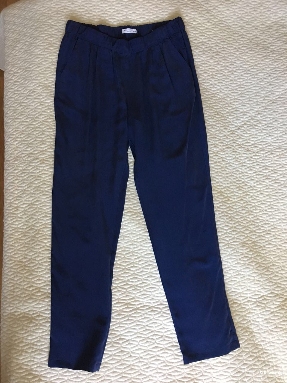 Шелковые брюки Equipment размер XS