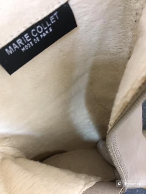 Демисезонные полусапожки б/у в отличном состоянии, 37 русс.размер, марка Marie Collet