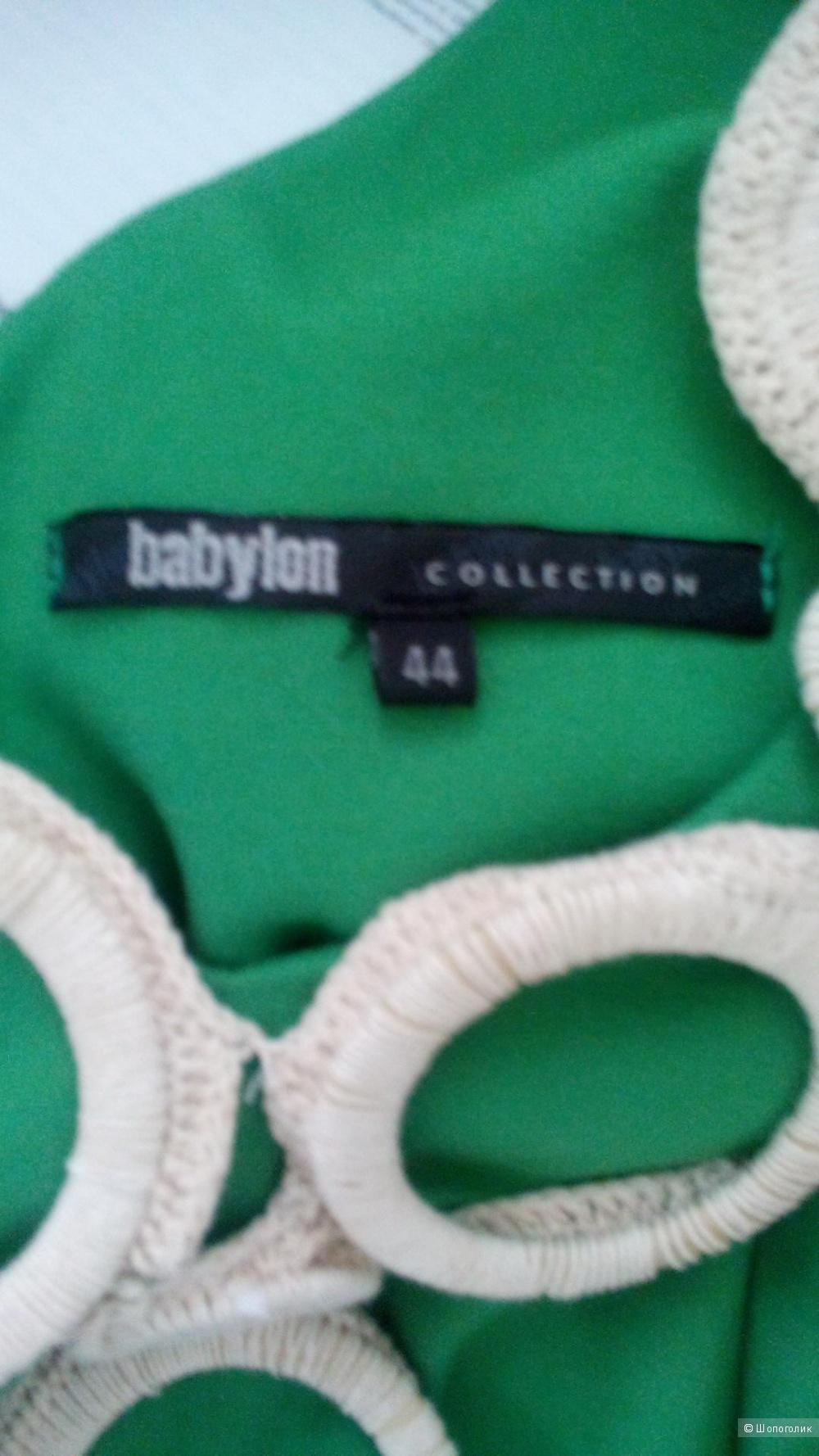 Платье трикотажное (вискоза) BABILON Италия в размере 44 IT(44 Росс)