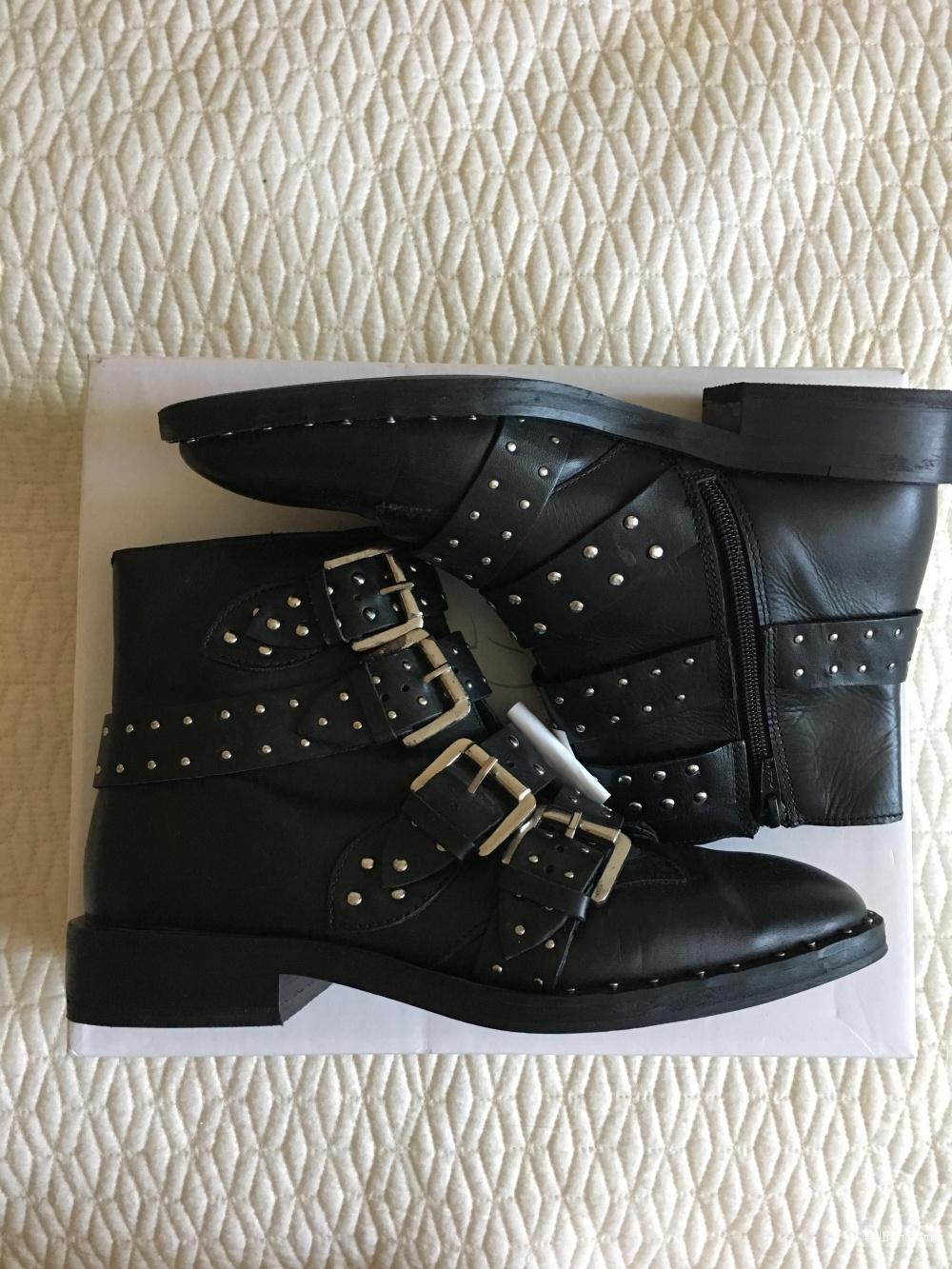 Кожаные ботинки Topshop, размер 37