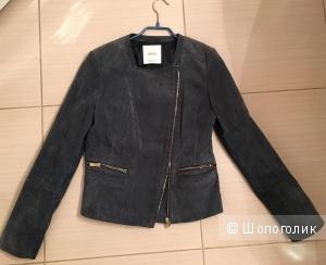 Куртка Mango 44 р замша