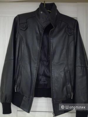 Куртка кожа р-р L.