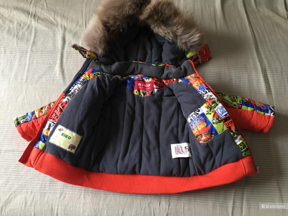 Костюм зимний , KIKO,  86-92