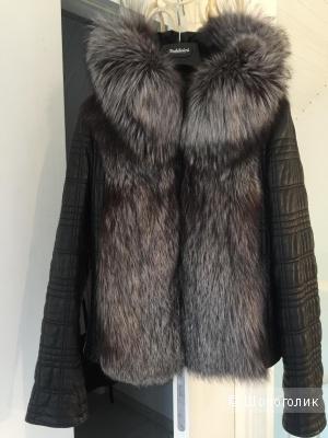 Куртка кожаная с мехом  Vito Ponti, размер 46-50