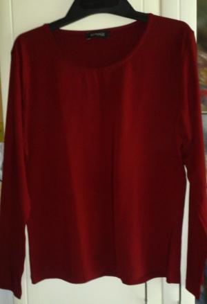Блузка бордовая Apanage, размер ХXL (нем) = 48-50 (рос), Германия