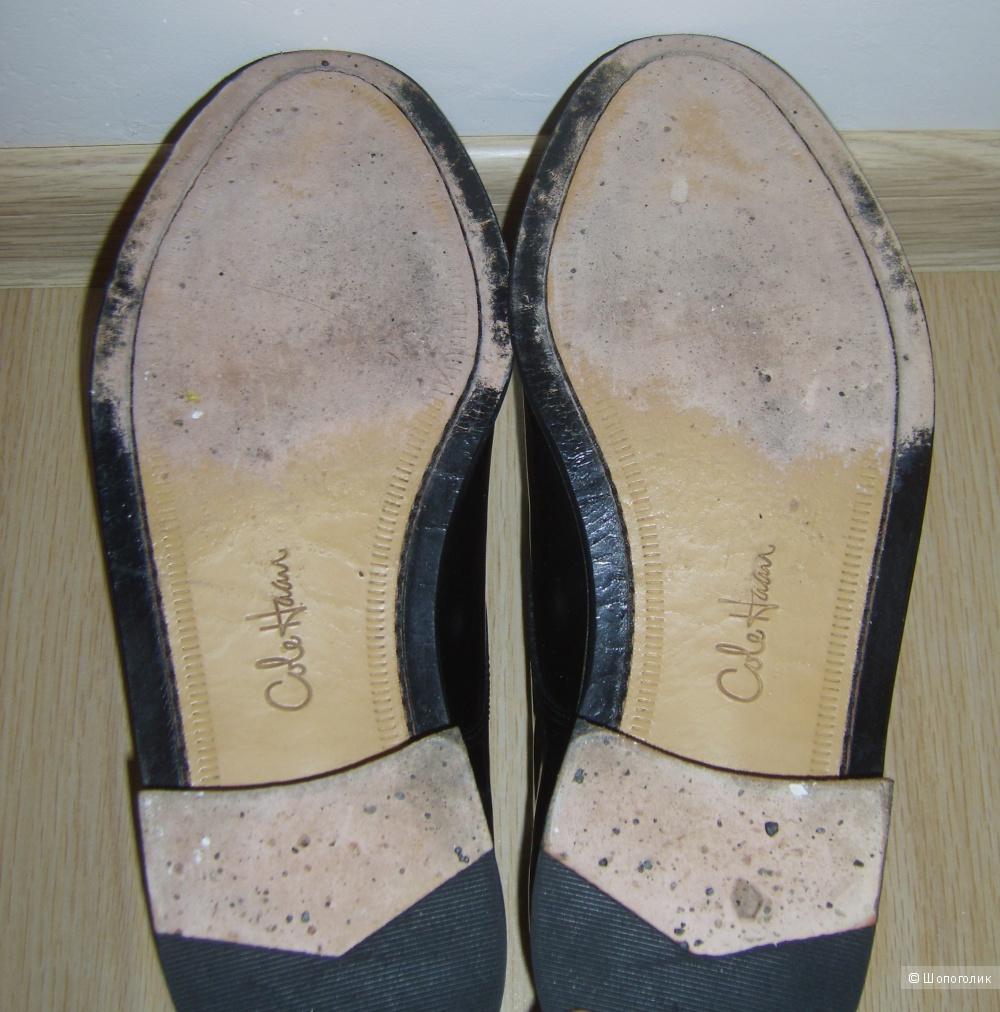 Классические полированные туфли Cole Haan Caldwell 42,5 размер, увеличенная полнота