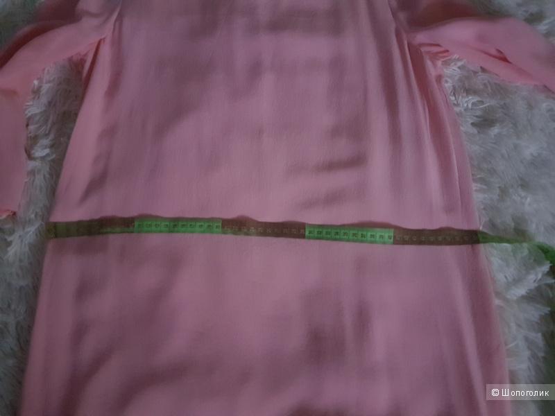 Нежное шелковое платье PINKO BLACK, 48 (Росс)  дизайнер:46 (IT)