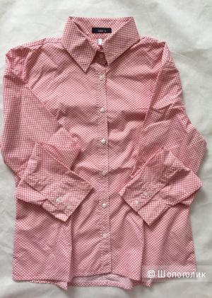 Супер Рубашка с шикарным принтом немецкой марки  Jake's размер M
