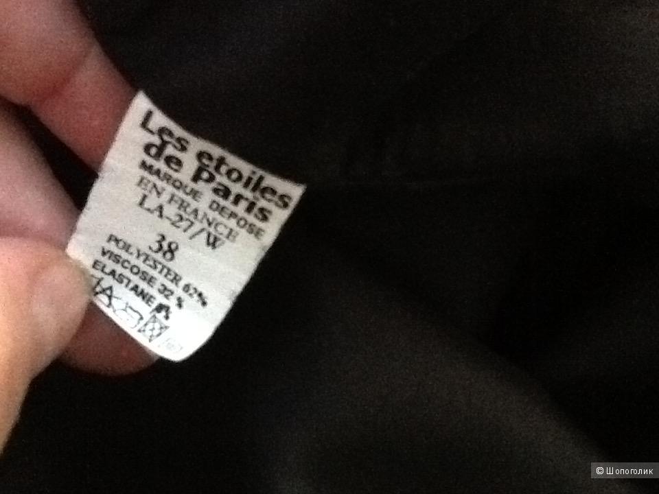 Чёрное платьем кружевной спиной  Les Etoiles de Paris 44-46  размер