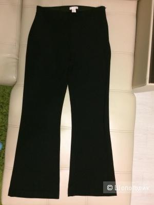 Брюки H&M черные стрейч клеш от колена 48 размер