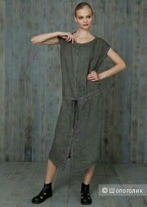 Льняное платье, 50-52 размер