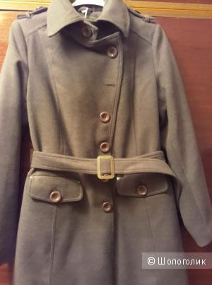 Пальто с поясом vintage PINK.раз.48
