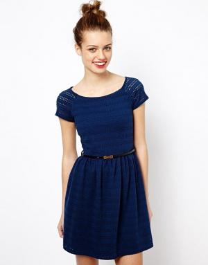 Кружевное платье New Look с ASOS, размер UK 8