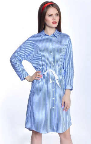 Платье-рубашка RISE, Россия, размер 42-48