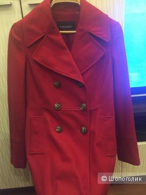 Шерстяное пальто Nine West размер 4