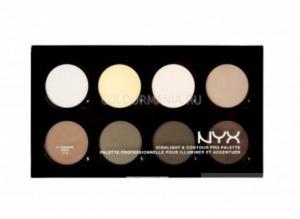 Палетка для контурирования NYX Highlight & Contour Pro Palette