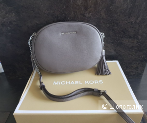 Michael Kors Ginny сумка серого цвета