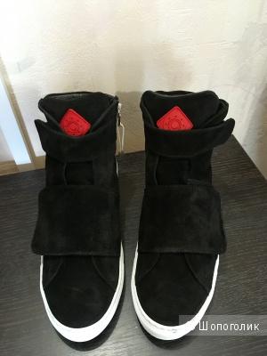 Мужские высокие кроссовки, бренд 8, размер 41