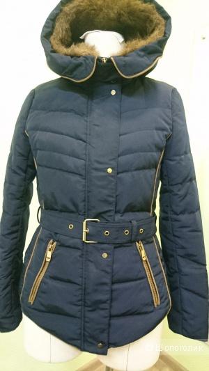 Стеганая куртка ZARA 44