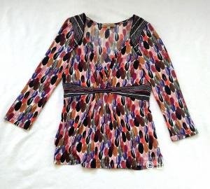 Неформальная яркая блузка MONOUKIAN р42-44