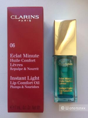 Eclat Minute Масло-блеск для губ от Clarins