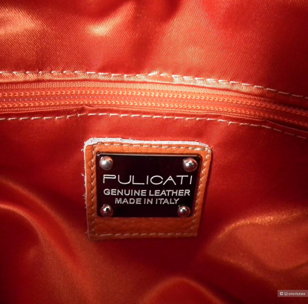 Сумка кроссбоди Pulicati (Made In Italy)