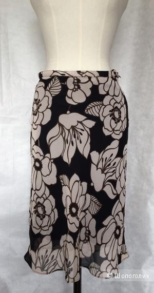 Шифоновая цветочная юбка марки MEXX размер S