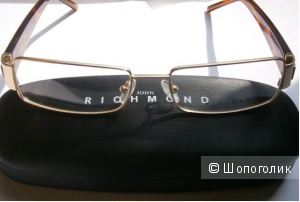 Очки, мужская оправа для зрения от John Richmond Италия размеры 55 mm. 17 mm. 135 mm.