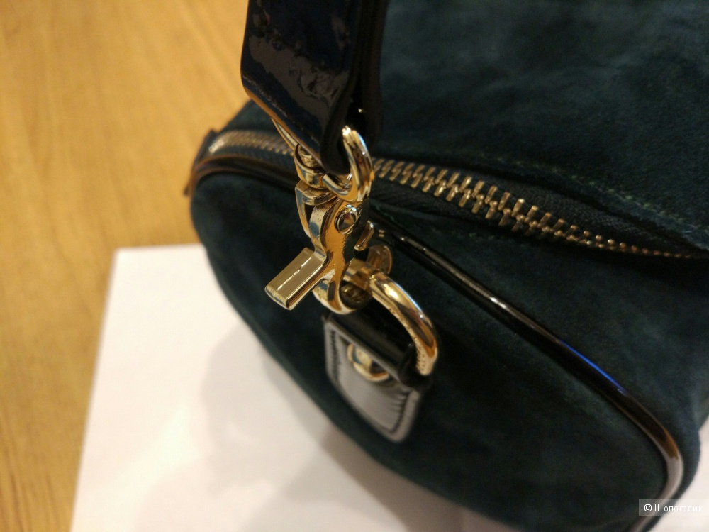 Замшевая сумка eleganzza