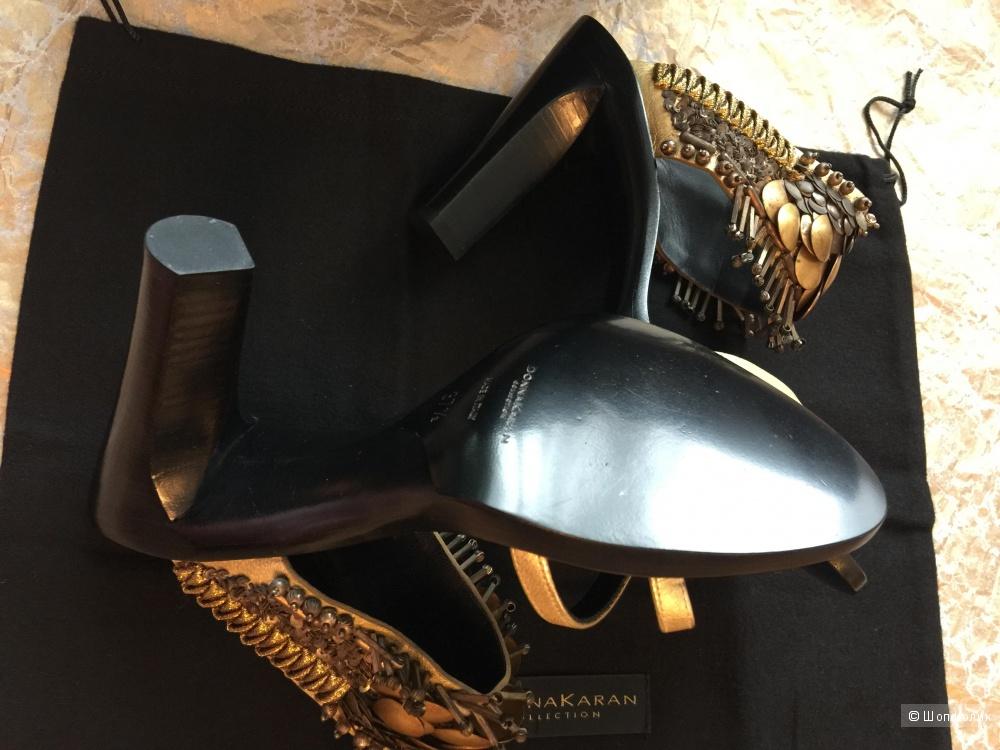 Босоножки Donna Karan collection оригинал новые размер 37.5