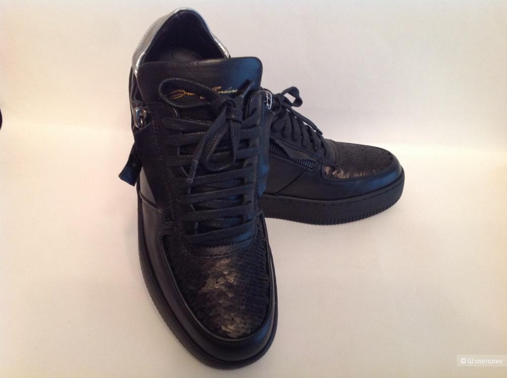 Кроссовки стильные на осень BRUNO BORDESE Италия 37 EU на 37 RUS размер 24,5 см