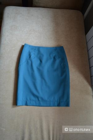 Зеленая юбка Charuel 42 размер