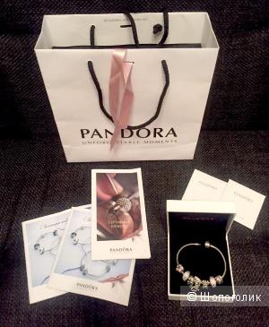 Браслет Pandora с лимитированными шармами. В идеале