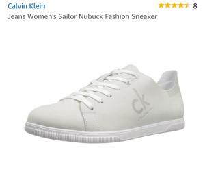 Кеды Calvin Klein, размер 7,5.
