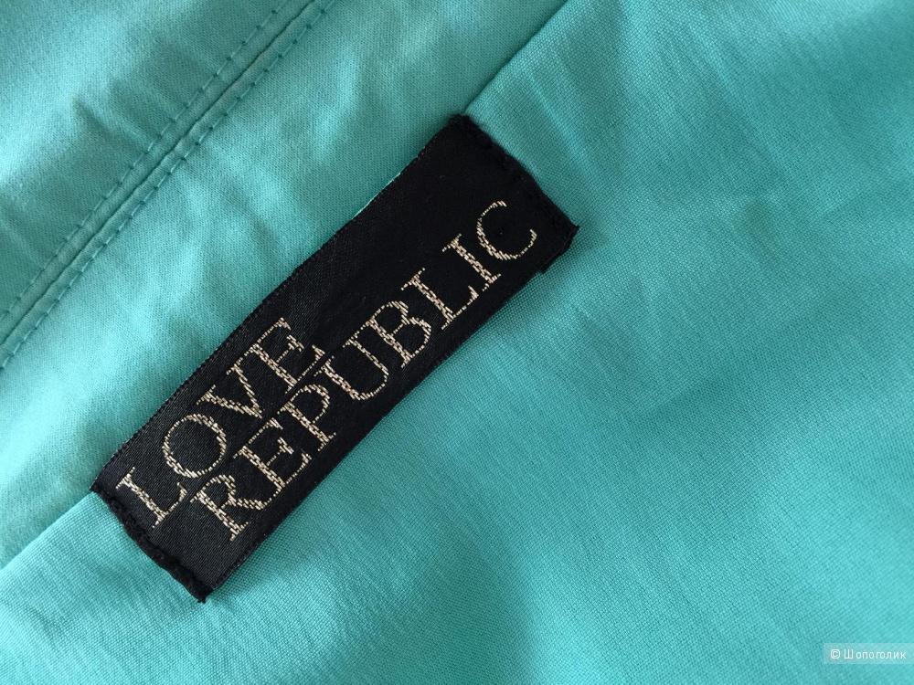 Жакет ментольного цвета марки LOVE REPUBLIC размер 44-46