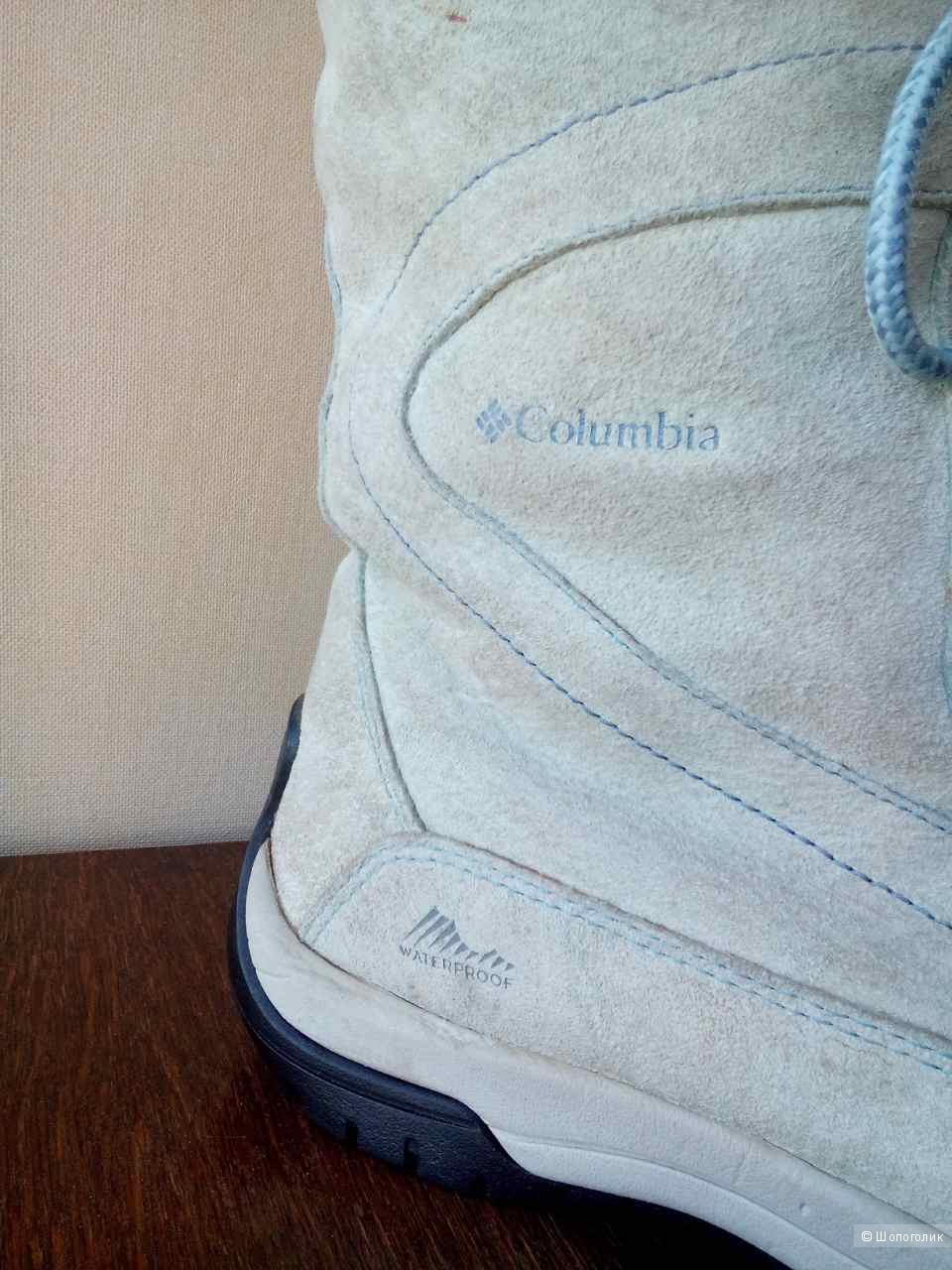 Сапоги columbia waterproof, размер 40
