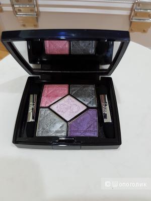Тени - пятерки Dior, 804 extras pink