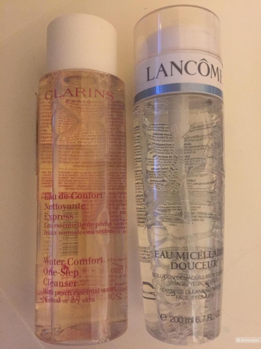 Clarins и Lancome сетом