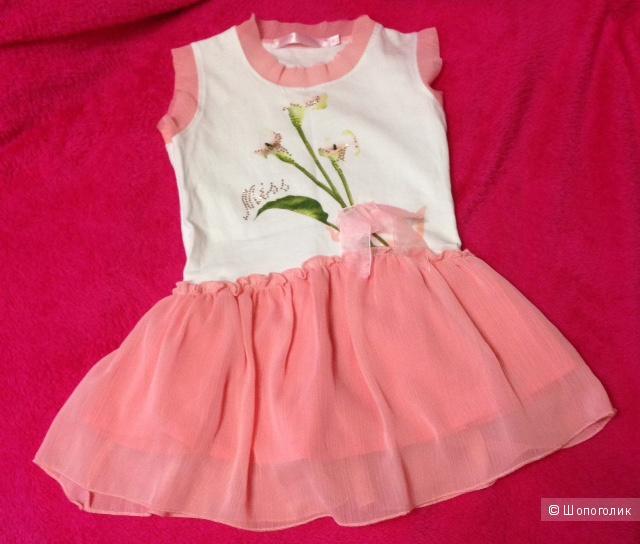 Новое платье 1-2 года