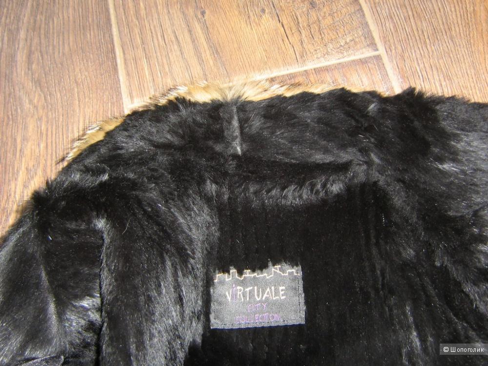 Кожаная куртка размер 44-46