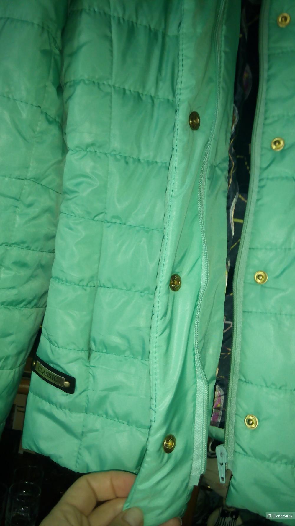 Куртка легкая, жакет- куртка,  размер S