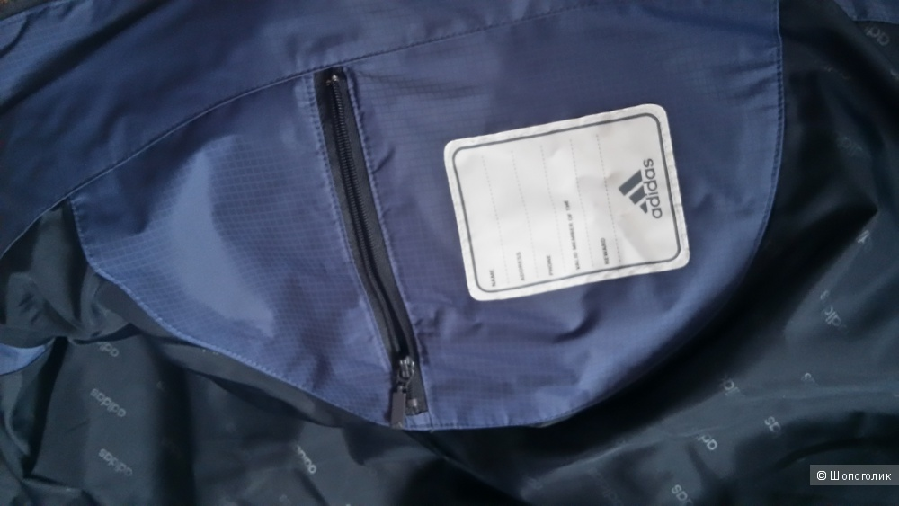 Мужской пуховик,adidas,размер L