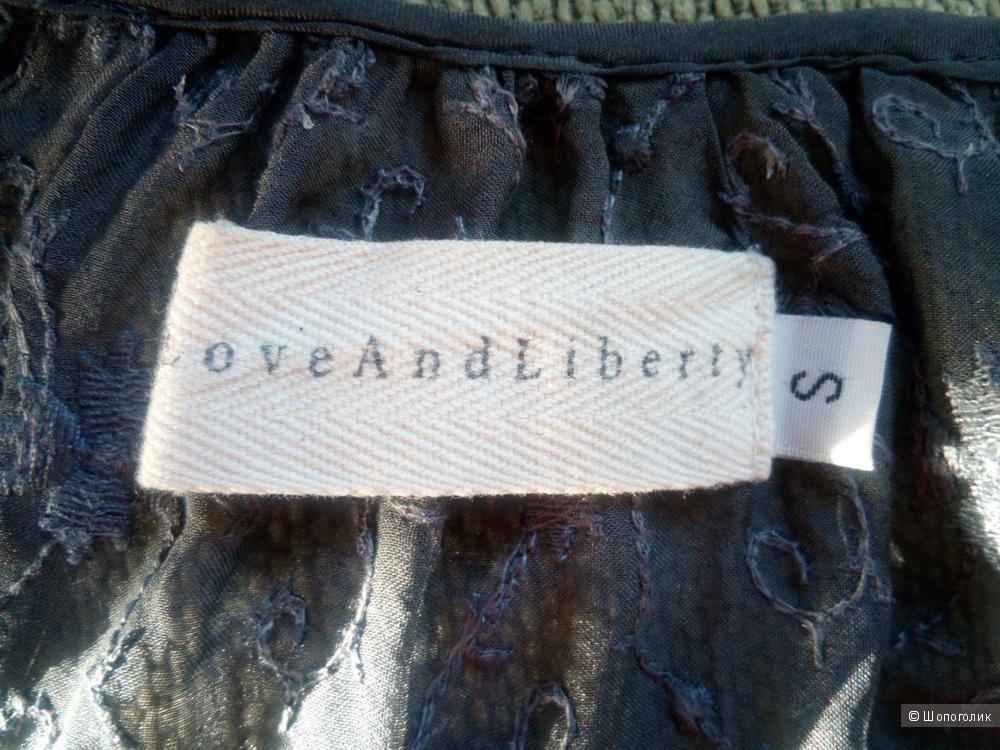 Блузка и топ 4 love and liberty 46 размер 100% шёлк