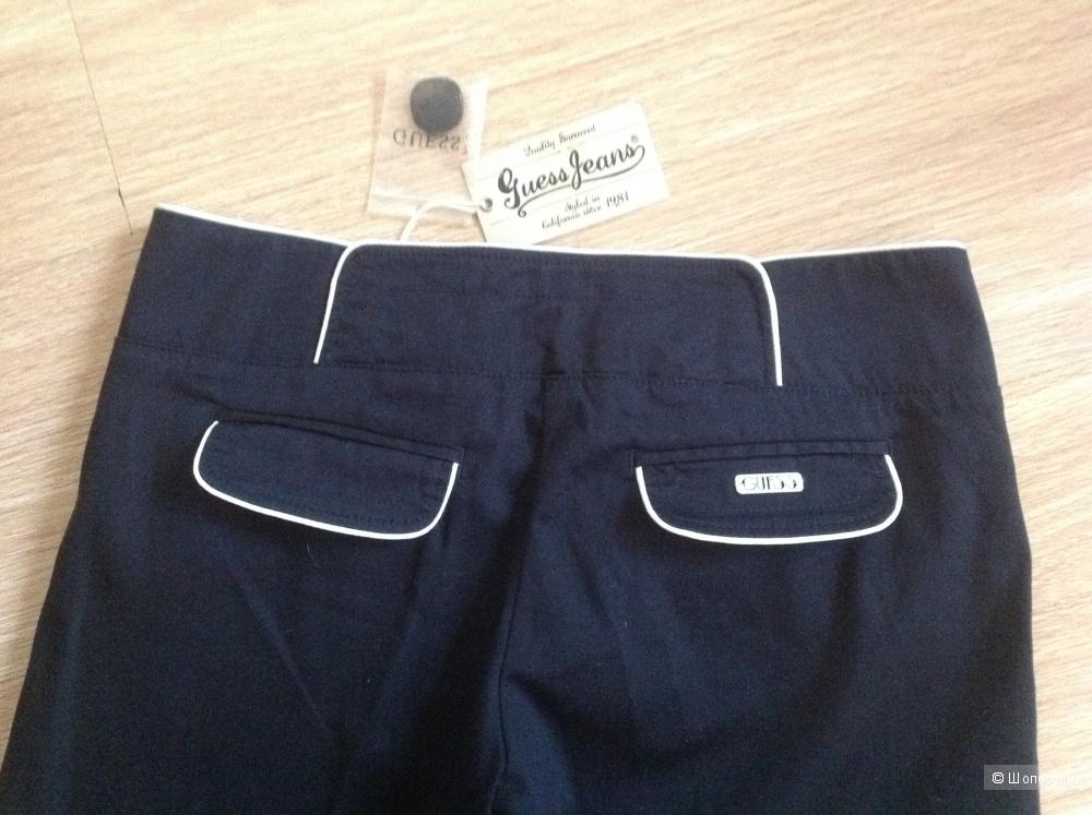 Оригинальные брюки Guess 28 р-р, новые, оригинал 100%, темно синего цвета