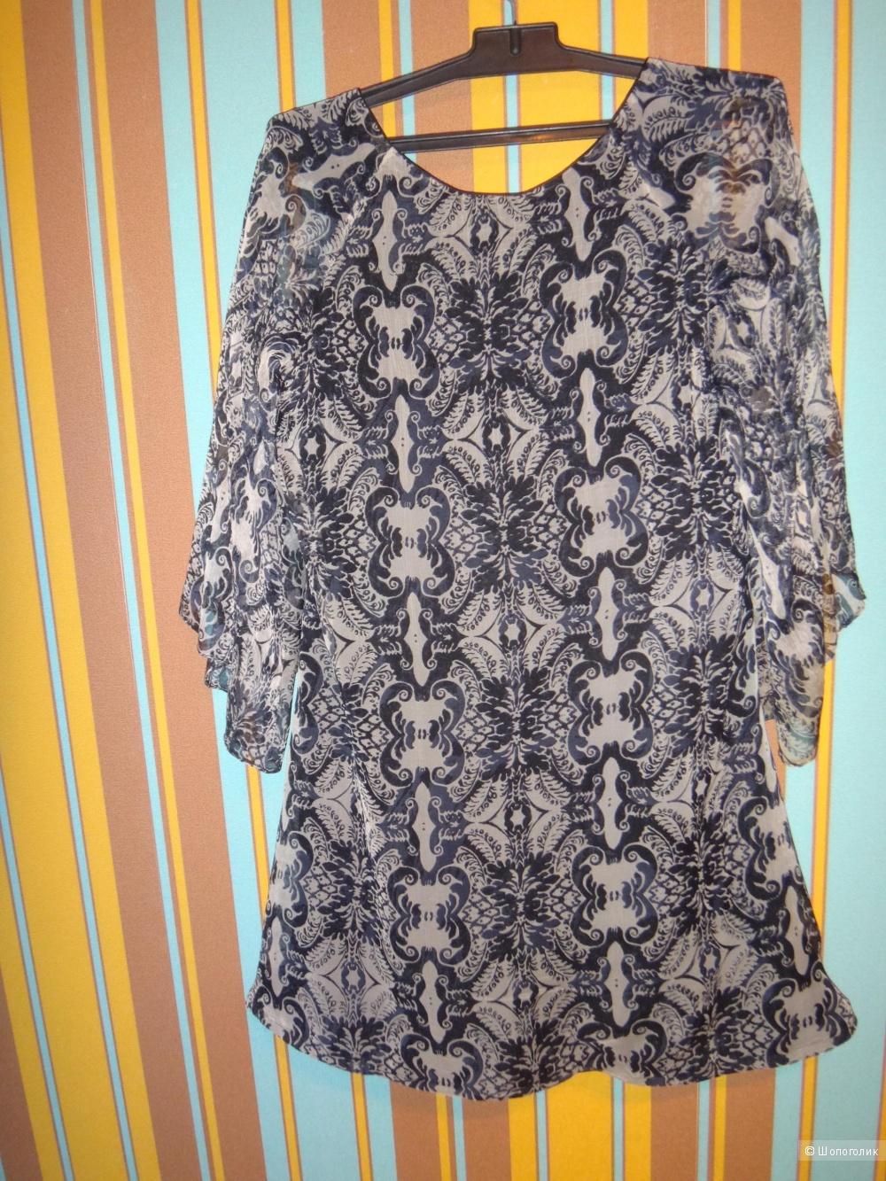 Платье -туника 44-46 размер Франция