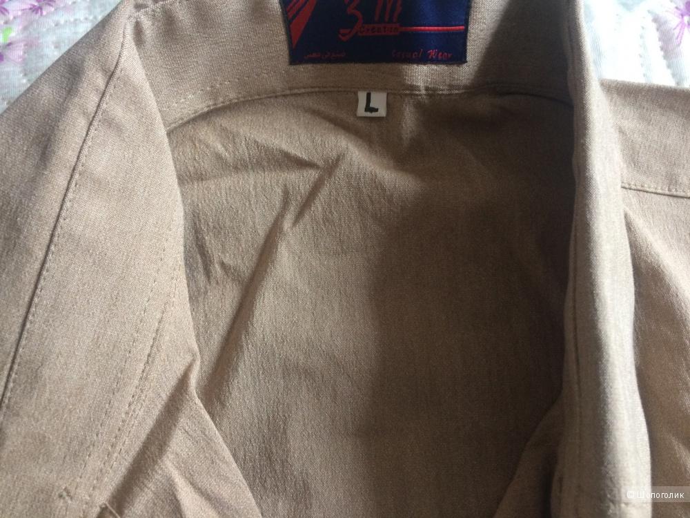Рубашка мужская р.48