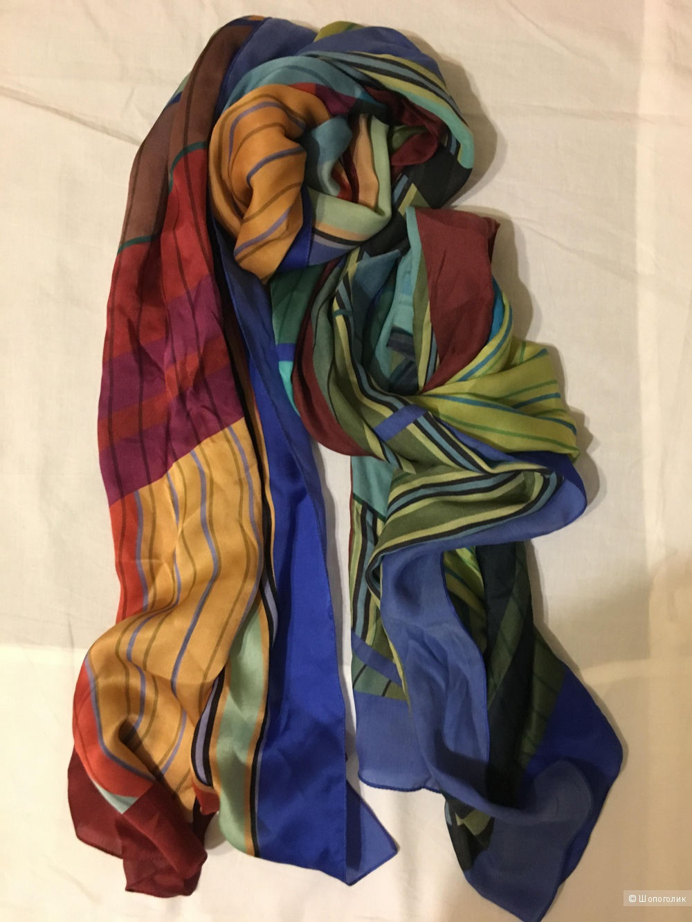 Шелковый платок Uterque