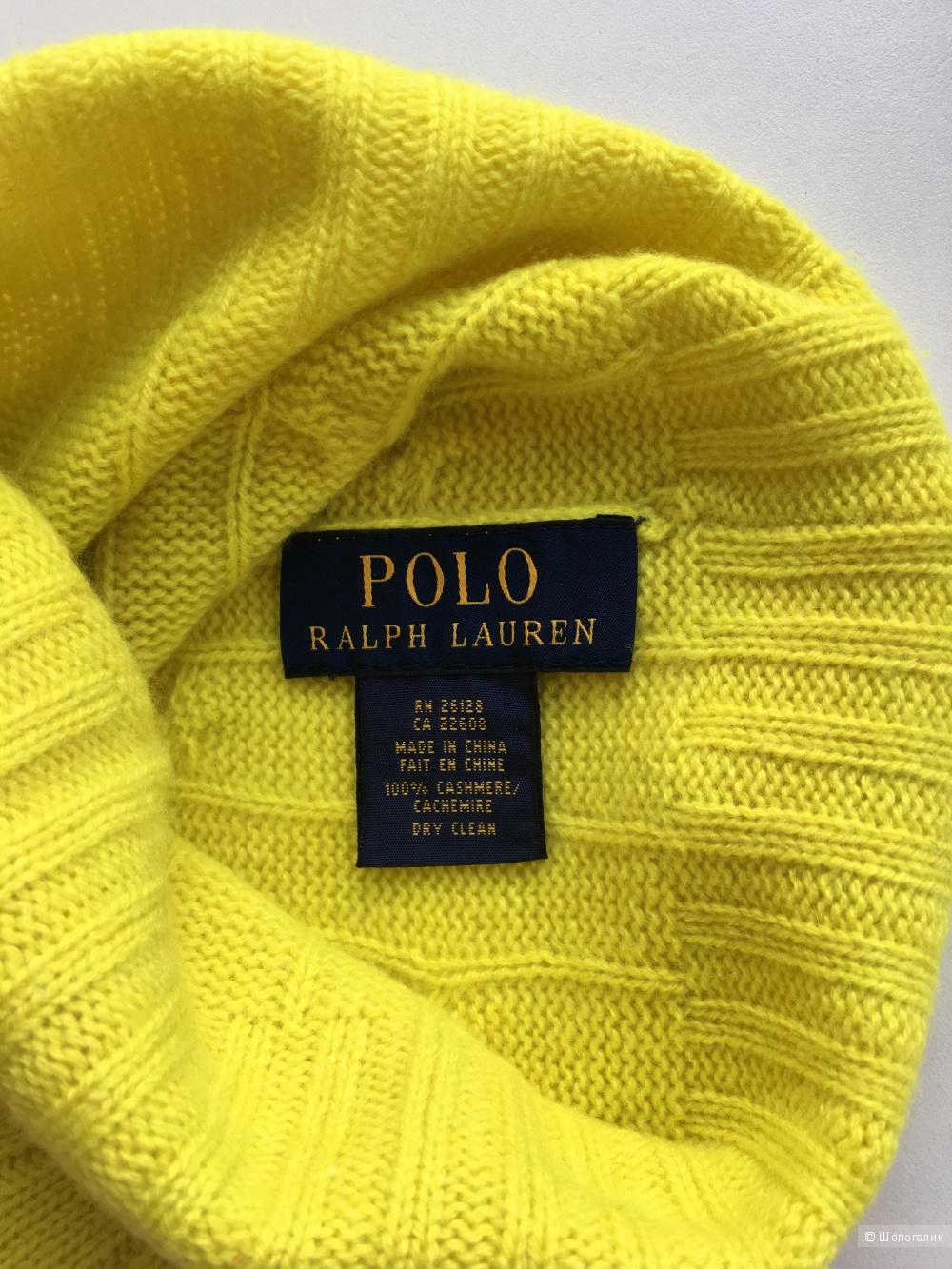 Кашемировая шапочка Ralph Lauren, размер единый