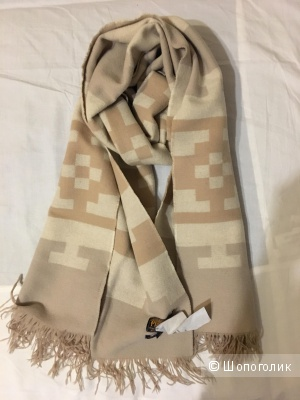 Бежевый шарф Pendleton